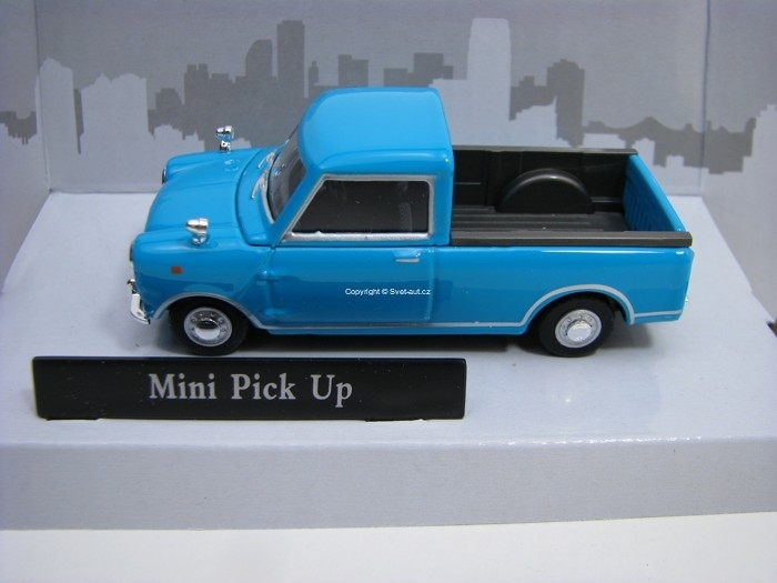 Mini Pick Up Blue 1:43 Cararama