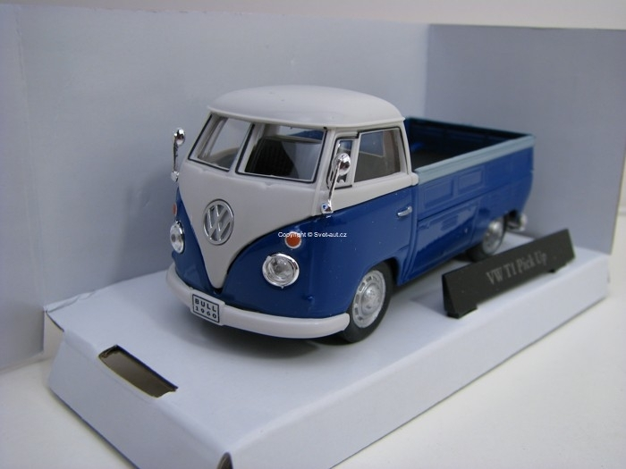 Volkswagen T1 Pick Up Blue 1:43 Cararama