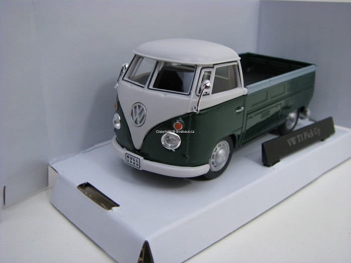 Volkswagen T1 Pick Up Green 1:43 Cararama
