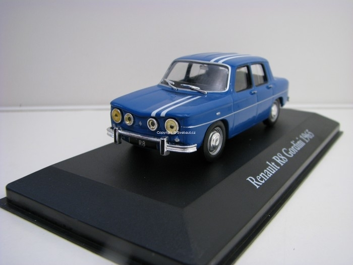 Renault R8 Gordini 1965 Blue 1:43 Atlas Edition