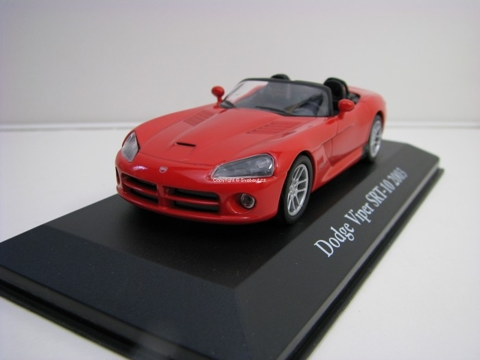 Dodge Viper SRT-10 2003 Red 1:43 Atlas Edition