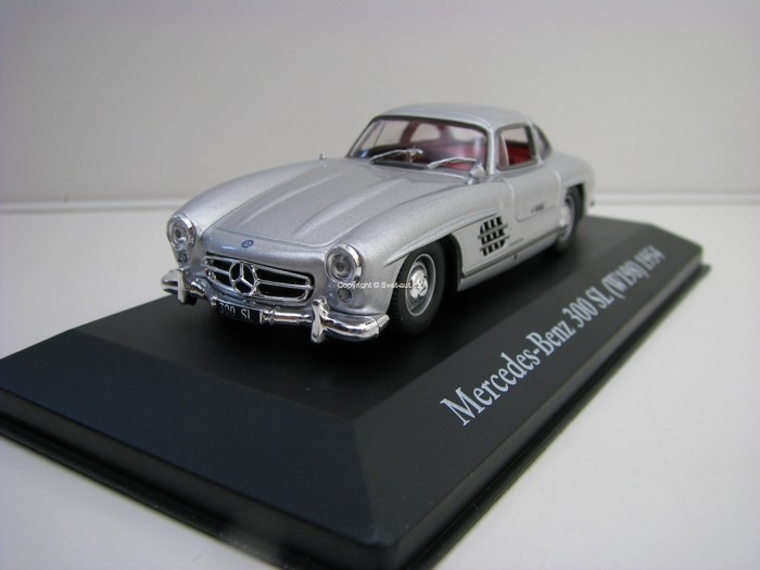 Mercedes-Benz 300 SL W198 1954 Silver 1:43 Atlas Edition