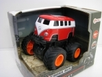 Volkswagen Cross Bus 4x4 BIG Wheels Red Toi-Toys