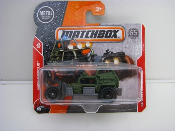 Matchbox 65Th Anniversary Sahara Sweeper MBX Rescue 23/30