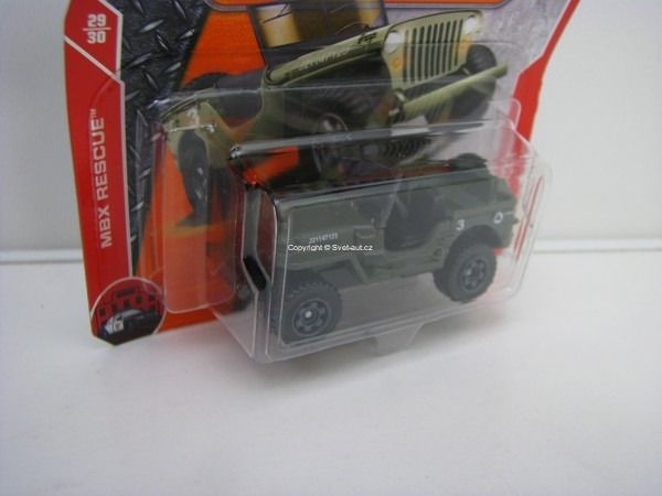 Matchbox 65Th Anniversary 43 Jeep Willys MBX Rescue 29/30