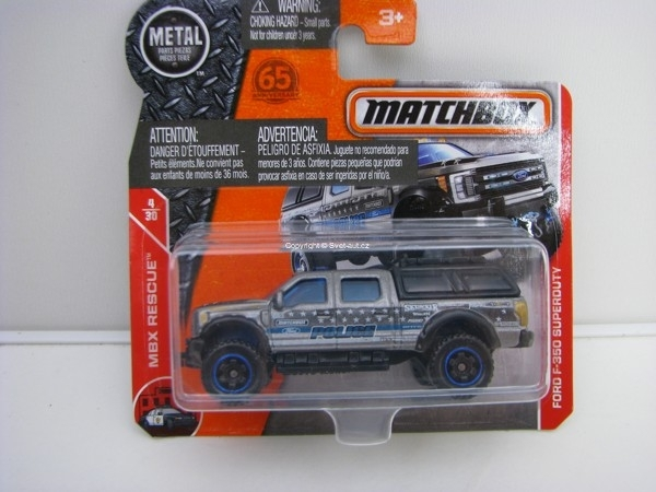 Matchbox 65Th Anniversary Ford F-350 Superduty MBX Rescue 4/30