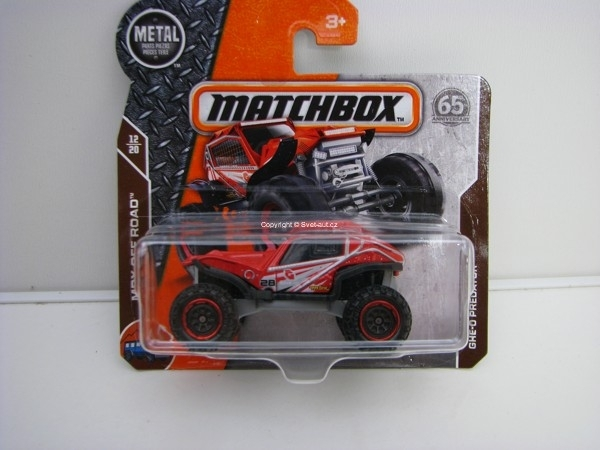 Matchbox 65Th Anniversary GHE-O Predator MBX Off Road 12/20