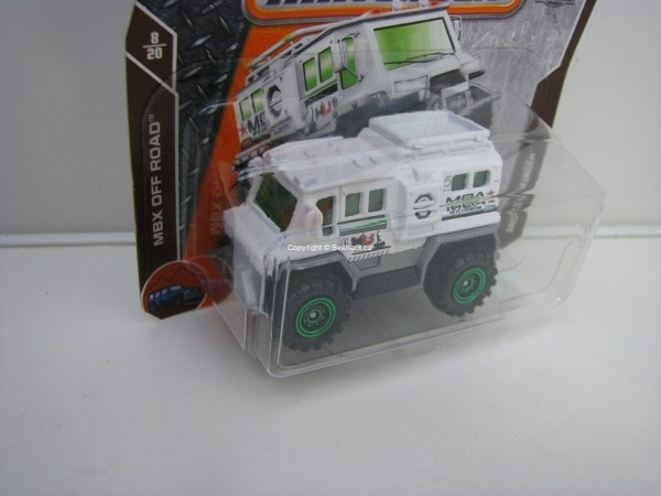 Matchbox 65Th Anniversary Arctic Thunder MBX Off Road 8/20