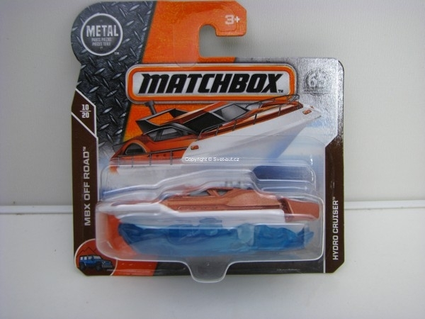 Matchbox 65Th Anniversary Hydro Cruiser MBX Off Road 10/20