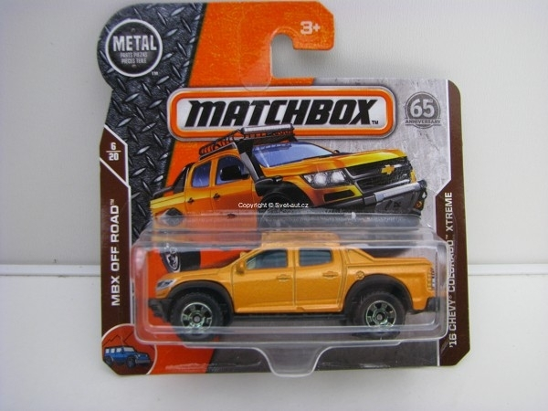 Matchbox 65Th Anniversary 16 Chevy Colorado Xtreme MBX Off Road 6/20