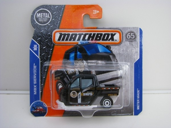 Matchbox 65Th Anniversary Meter Made DMPD MBX Service 18/20