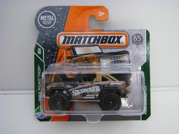 Matchbox 65Th Anniversary Ford Bronco 4x4 MBX Road Trip 31/35