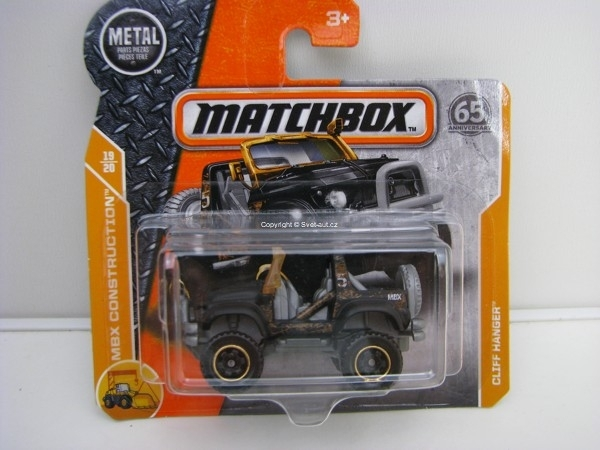 Matchbox 65Th Anniversary Cliff Hanger MBX Construction 19/20