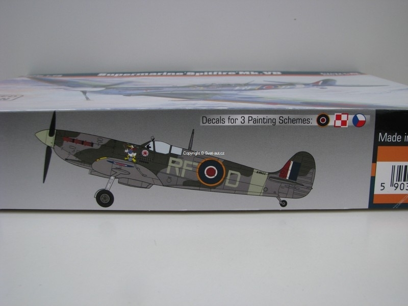 Spitfire Mk.Vb Supermarine 1:72 Mister Craft MCRD203