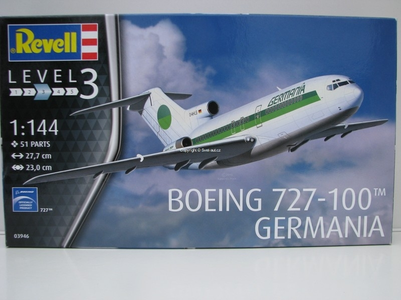 Boeing 727-100 Germania 1:144 Revell 03946