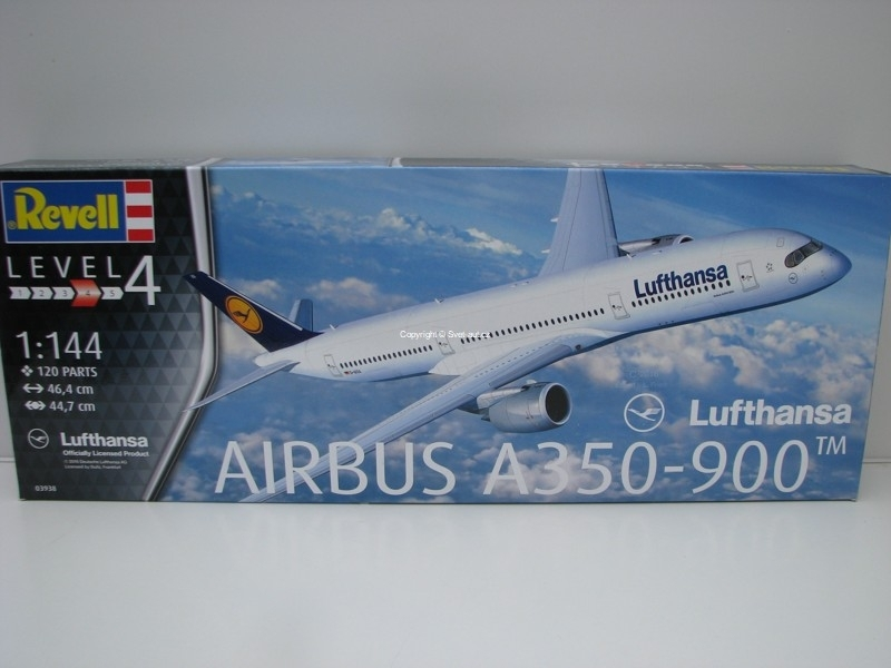 Airbus A350-900 Lufthansa 1:144 Revell 03938