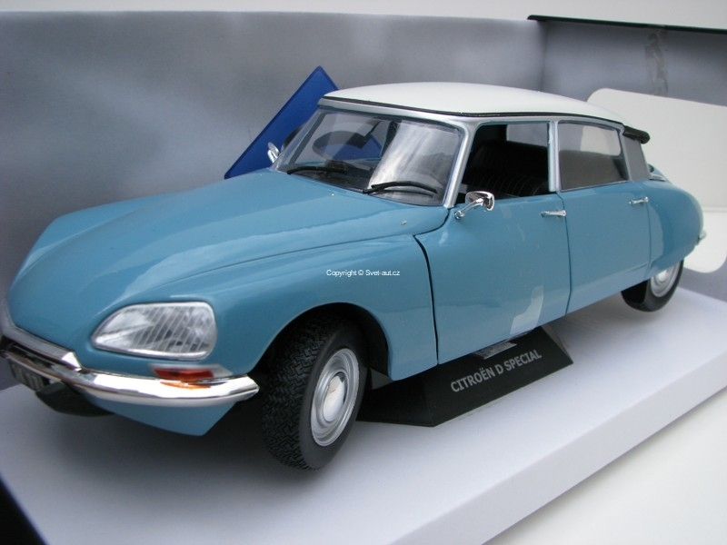 Citroen DS Special 1972 Blue 1:18 Solido