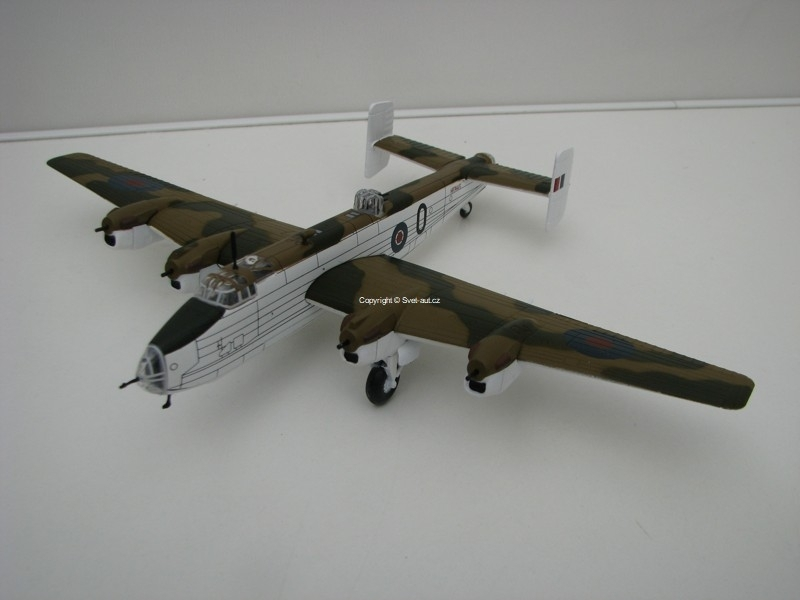 Letadlo Halifax GR MK.II Series IA UK 1:144 Ixo models