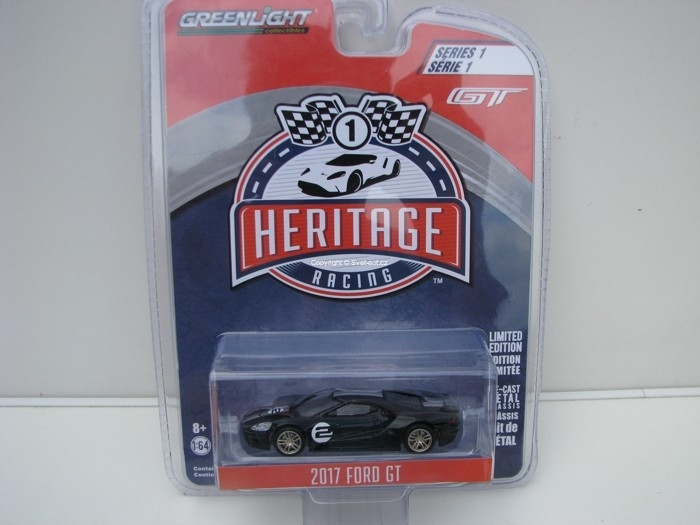 Ford GT 2017 No.2 Black 1:64 Heritage Racing