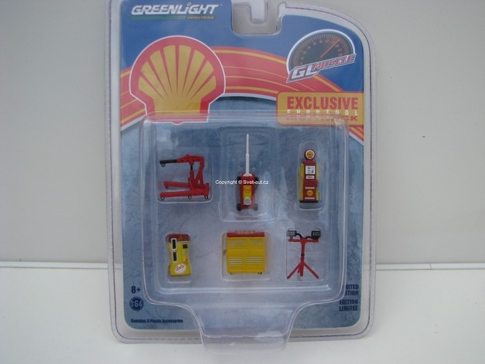 GL Muscle Shop Tool Multipack 1:64 Greenlight