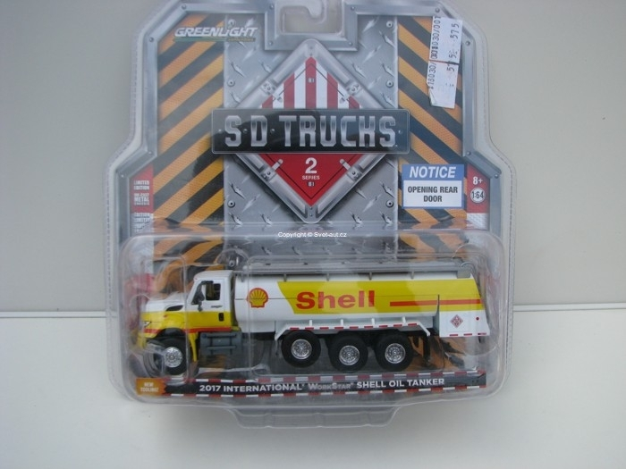 International WorkStar Shell Oil Tanker 2017 1:64 SD Trucks Greenlight