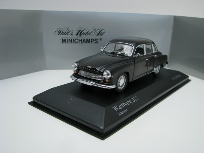 Wartburg 311 Black 1:43 Minichamps