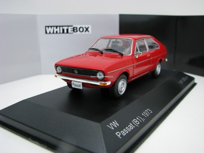 Volkswagen Passat B1 1973 Red 1:43 White Box