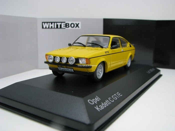 Opel Kadett C GT/E 1978 Yellow 1:43 White Box
