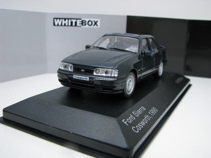 Ford Sierra Cosworth 1990 Blue Metallic 1:43 White Box