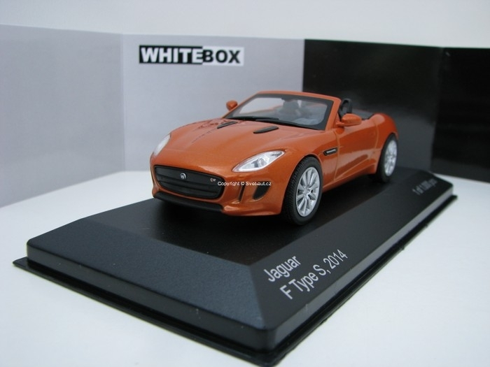 Jaguar F Type S 2014 Orange 1:43 White Box