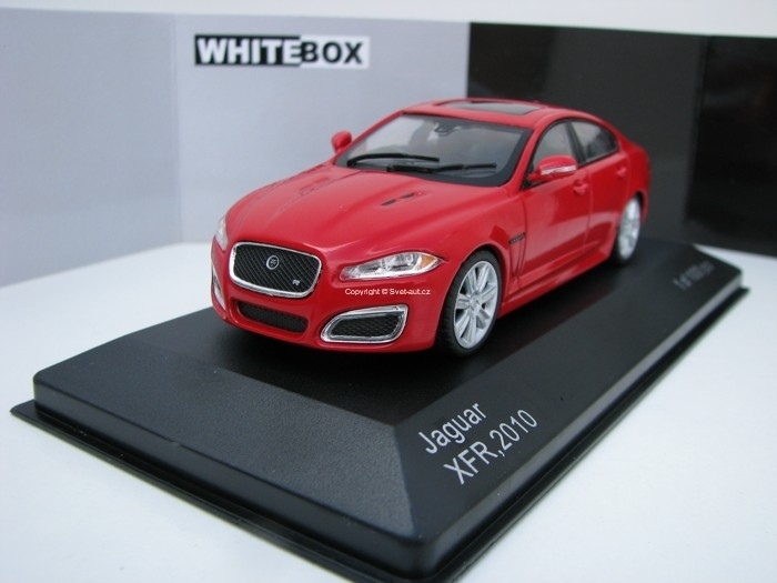 Jaguar XFR 2010 Red 1:43 White Box