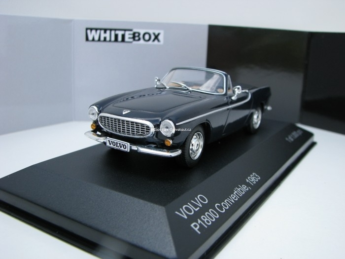 Volvo P1800 Convertible 1963 Blue 1:43 White Box