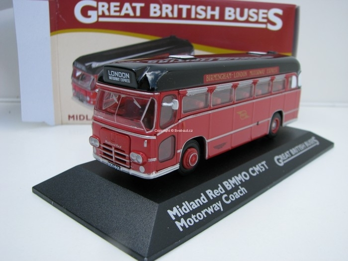 Midland Red BMMO CM5T 1:76 Great Britisch Buses Atlas Edition