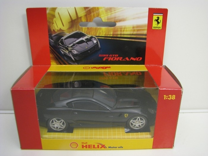Ferrari 599 GTB Fiorano Black 1:38 Hot Wheels Shell