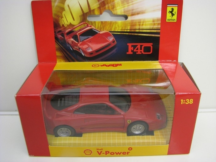 Ferrari F40 Red 1:38 Hot Wheels Shell