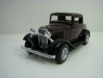 Ford 3-Window Coupé 1932 Purple Pull back 1:34 Kinsmart