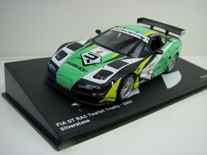Chevrolet Corvette C5R No.4 Tourist Trophy 2007 1:43 Ixo Altaya