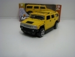 Hummer H2 Yellow 1:64 Mondo Motors