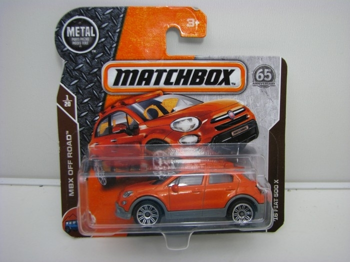 Matchbox 65Th Anniversary 16 Fiat 500 X MBX Off Road 1/20