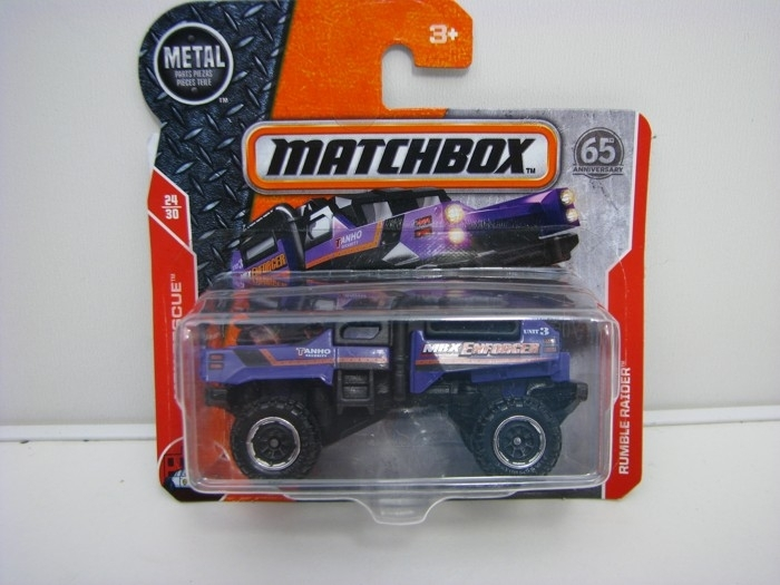 Matchbox 65Th Anniversary Rumble Raider MBX Rescue 24/30