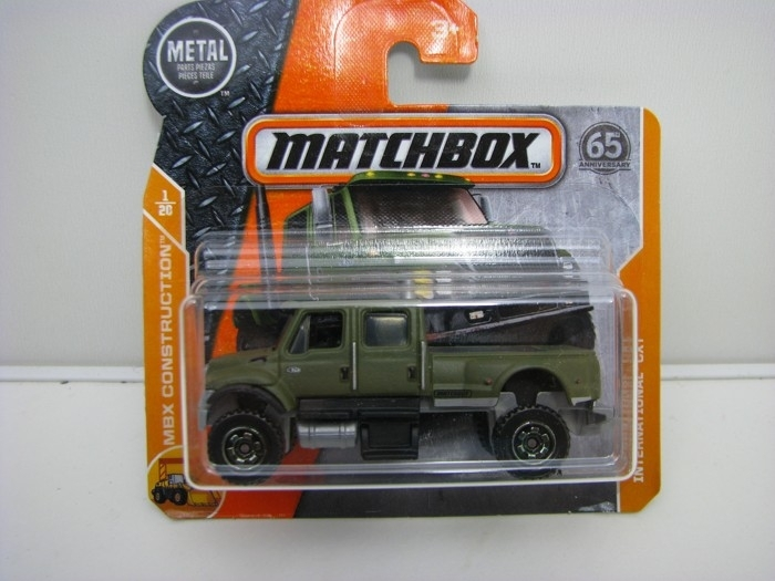 Matchbox 65Th Anniversary INTERNATIONAL CXT MBX Construction 1/20