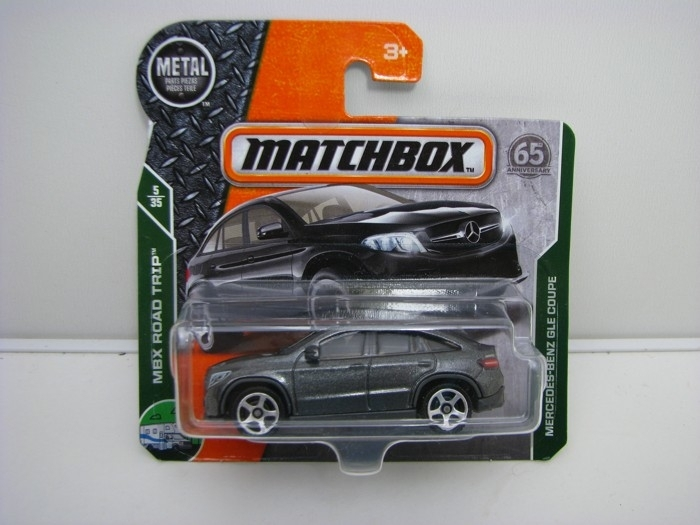 Matchbox 65Th Anniversary Mercedes-Benz GLE Coupe MBX Road Trip 5/35