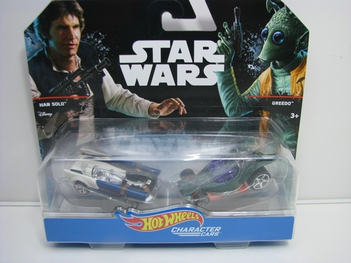 Hot Wheels Star Wars Character cars Han Solo a Creedo DJM07A