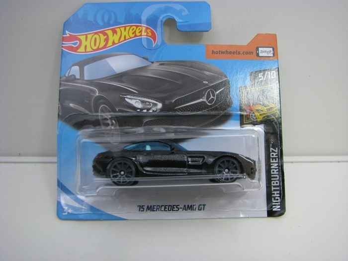 Mercedes-AMG GT Black Hot Wheels Nightburnez-2018
