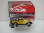 Jeep Wrangler Yellow Street Cars Majorette blistr
