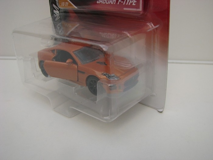 Jaguar F-Type Orange blistr Majorette Premium Cars 3052
