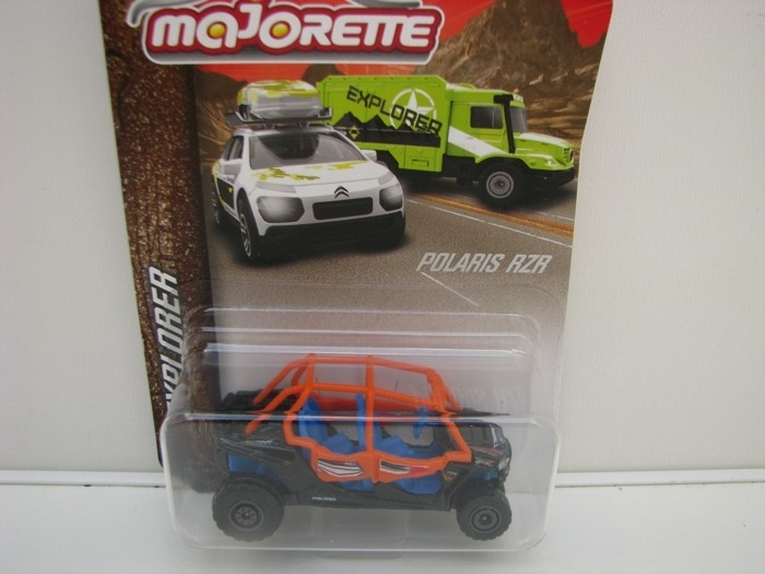 Polaris RZR Surf blistr Majorette Explorer 7601