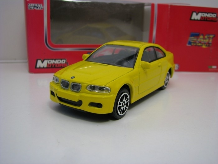 BMW M3 Yellow 1:43 Mondo Motors