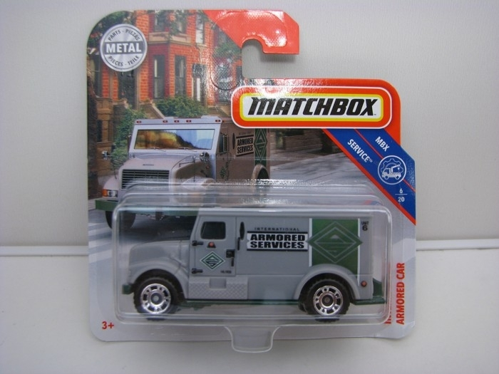 Matchbox 65Th Anniversary International Armored Car MBX Service 6/20