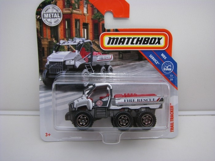 Matchbox 65Th Anniversary Trail Tracker MBX Service 17/20